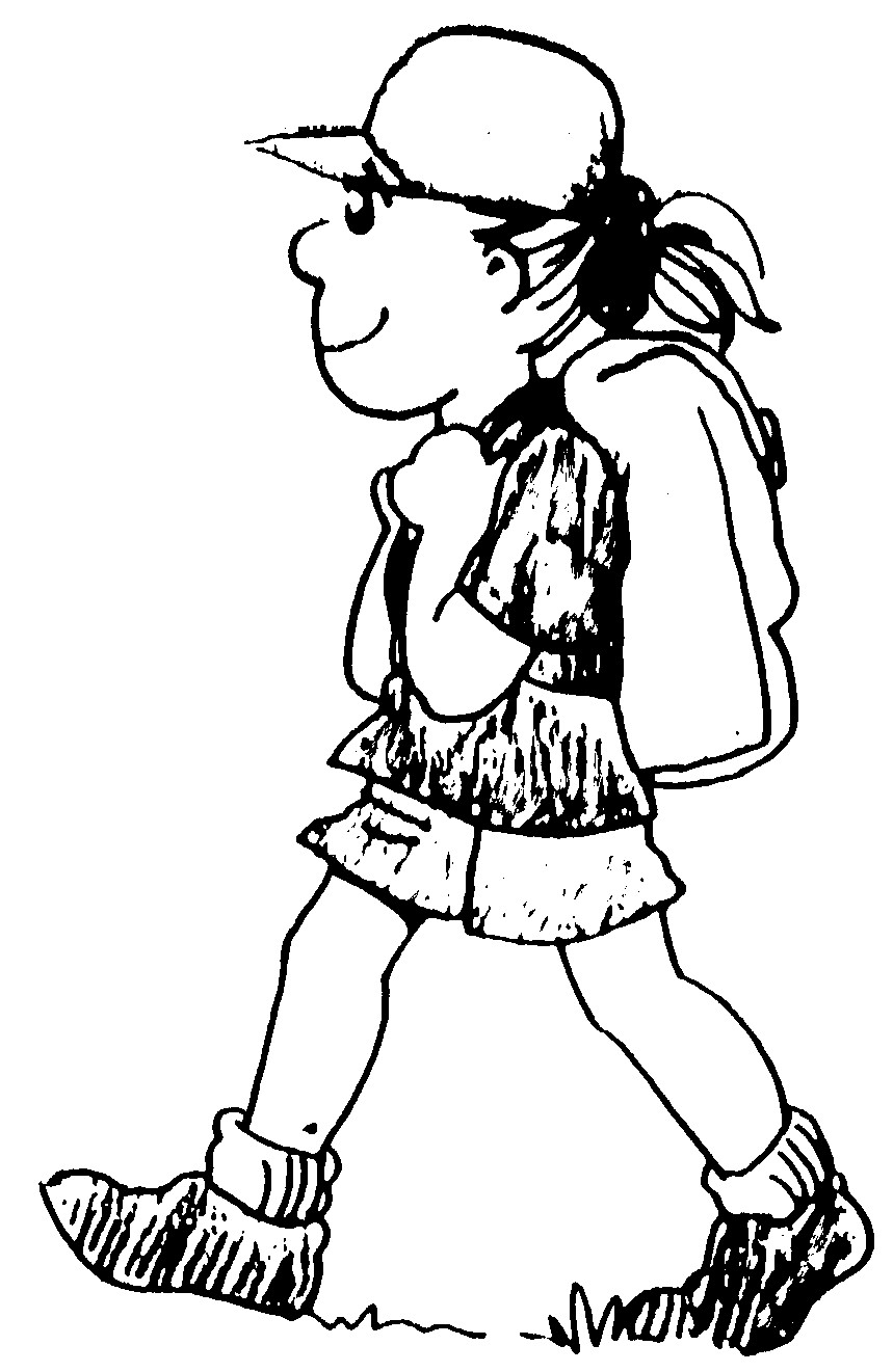 forest hiking trails coloring pages - photo#22